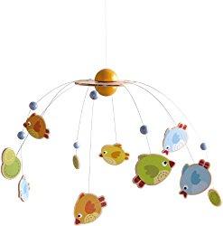 Baby Mobile Holz Vögel Haba